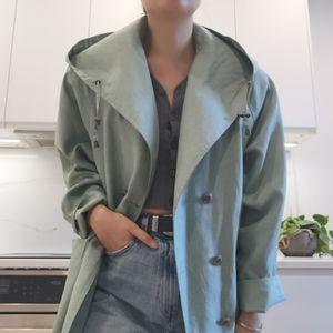 Oversize trench coat